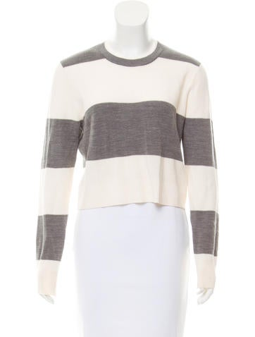 A.L.C. Wool Cropped Sweater None