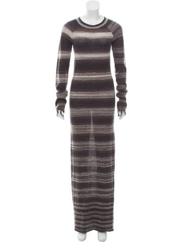 A.L.C. Wool Maxi Dress None