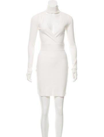 A.L.C. Cutout Knit Mini Dress None