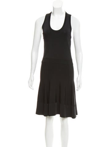 A.L.C. Sleeveless Knee-Length Dress None