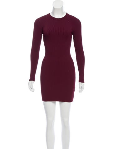 A.L.C. Long Sleeve Sweater Dress None