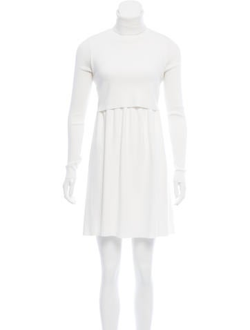 A.L.C. Turtleneck Sweater Dress None
