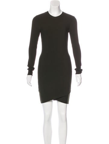 A.L.C. Knit Bodycon Dress None