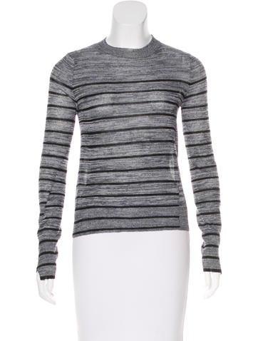 A.L.C. Stripe Wool Top None