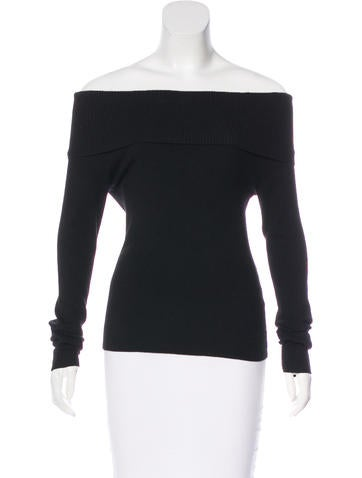 A.L.C. Wool Off-The-Shoulder Sweater None