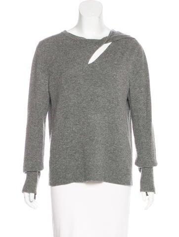 A.L.C. Cutout Knit Sweater None
