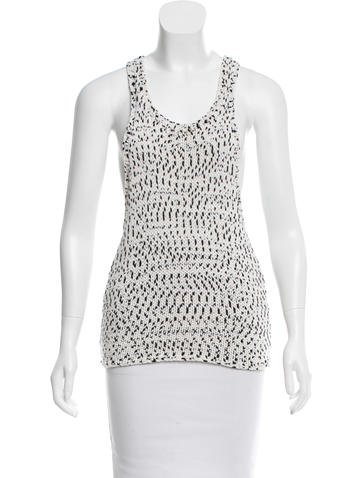 A.L.C. Sleeveless Knit Top None