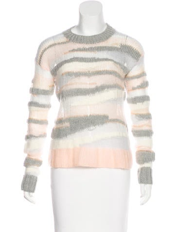 A.L.C. Wool-Blend Knit Sweater None