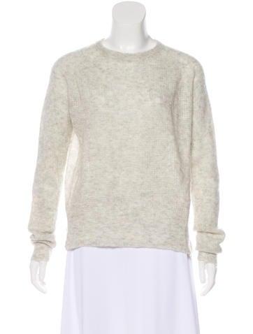 A.L.C. Cashmere & Silk-Blend Sweater None