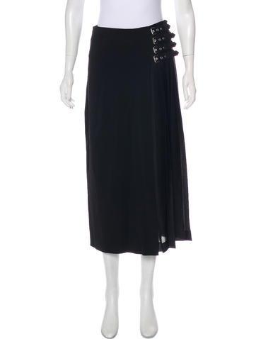 A.L.C. Accordion Pleat Midi Skirt by A.L.C.
