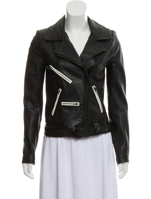 Leather Moto Jacket by A.L.C.