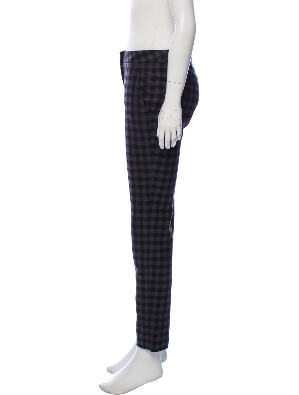 A.l.c. Checkered Skinny Pants Black - image 2
