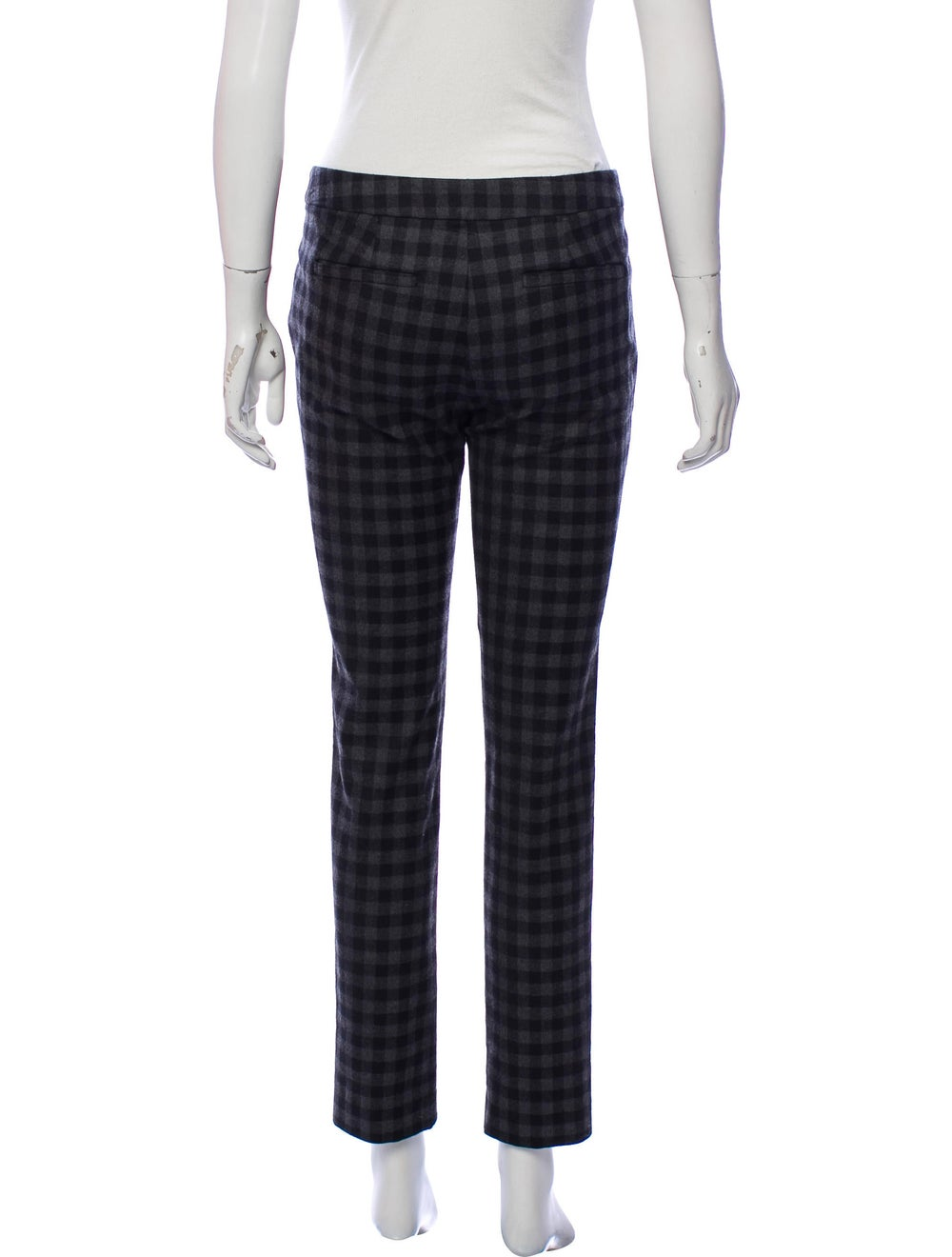 A.l.c. Checkered Skinny Pants Black - image 3