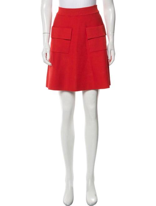 A.l.c. Mini Skirt Red