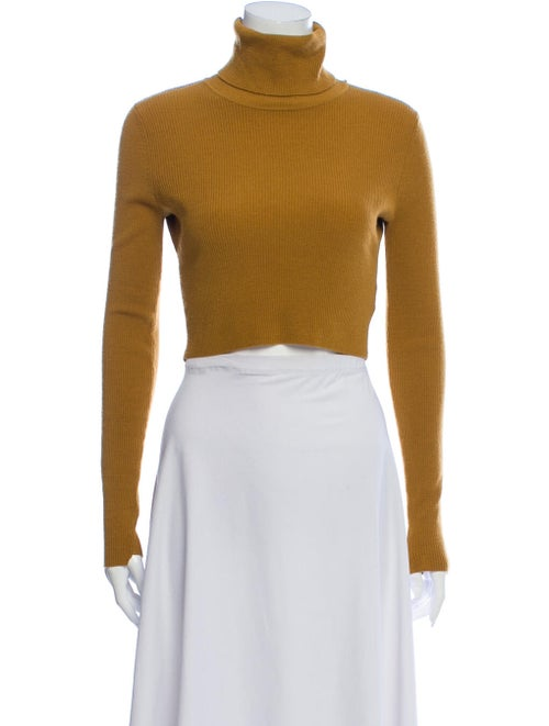 A.l.c. Turtleneck Sweater Yellow