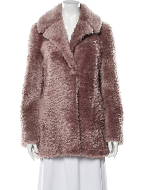 A.l.c. Shearling Fur Jacket Pink