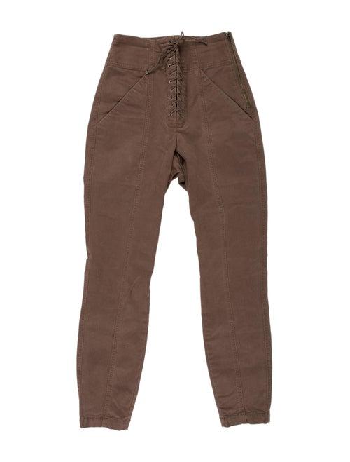 A.l.c. Skinny Leg Pants Green