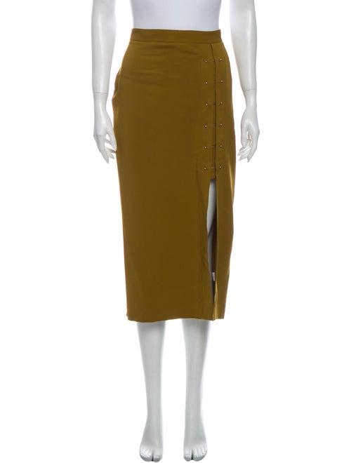 A.l.c. Midi Length Skirt Gold
