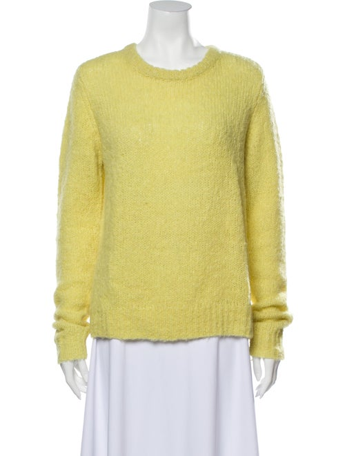 A.l.c. Alpaca Scoop Neck Sweater Yellow