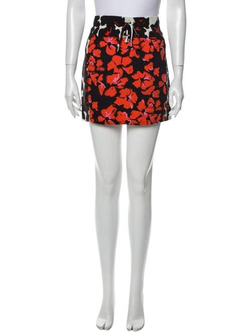A.l.c. Silk Mini Skirt Black