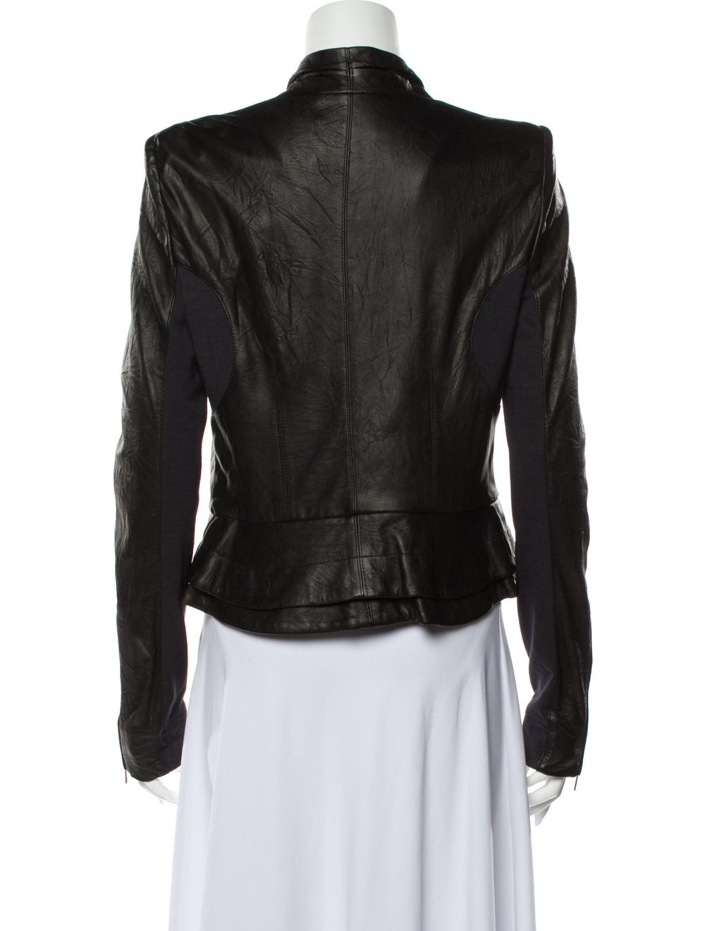 A.l.c. Leather Blazer Black - image 3