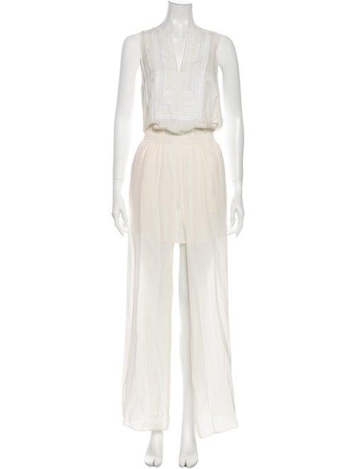A.l.c. Silk Long Dress White