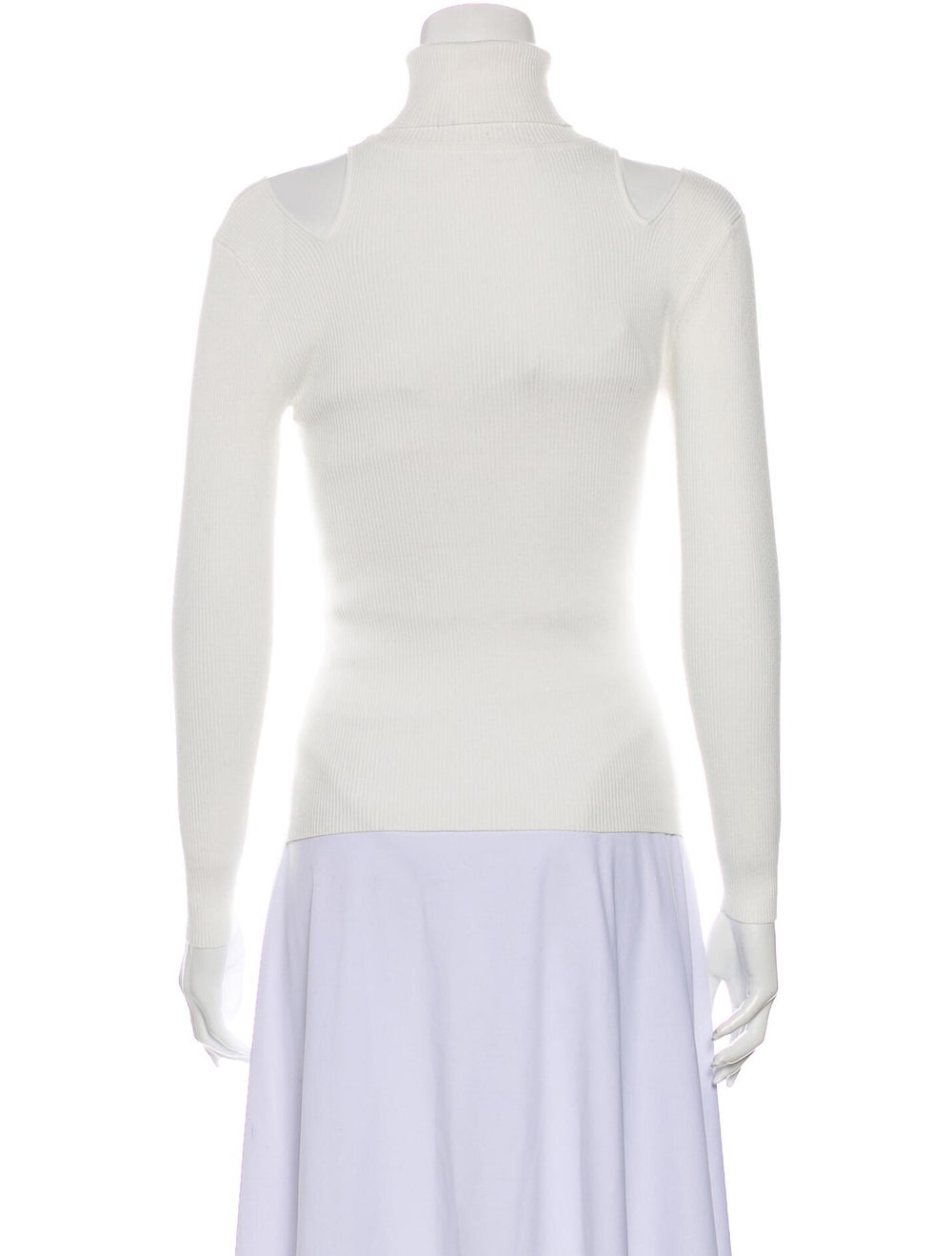 A.l.c. Turtleneck Long Sleeve Top White - image 3