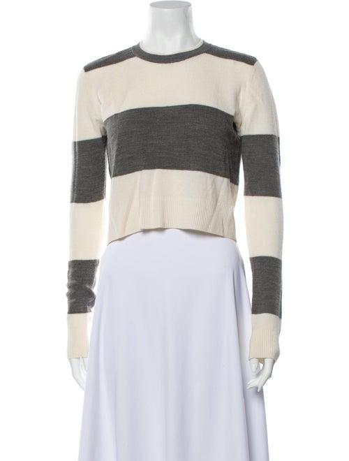 A.l.c. Wool Striped Sweater Wool