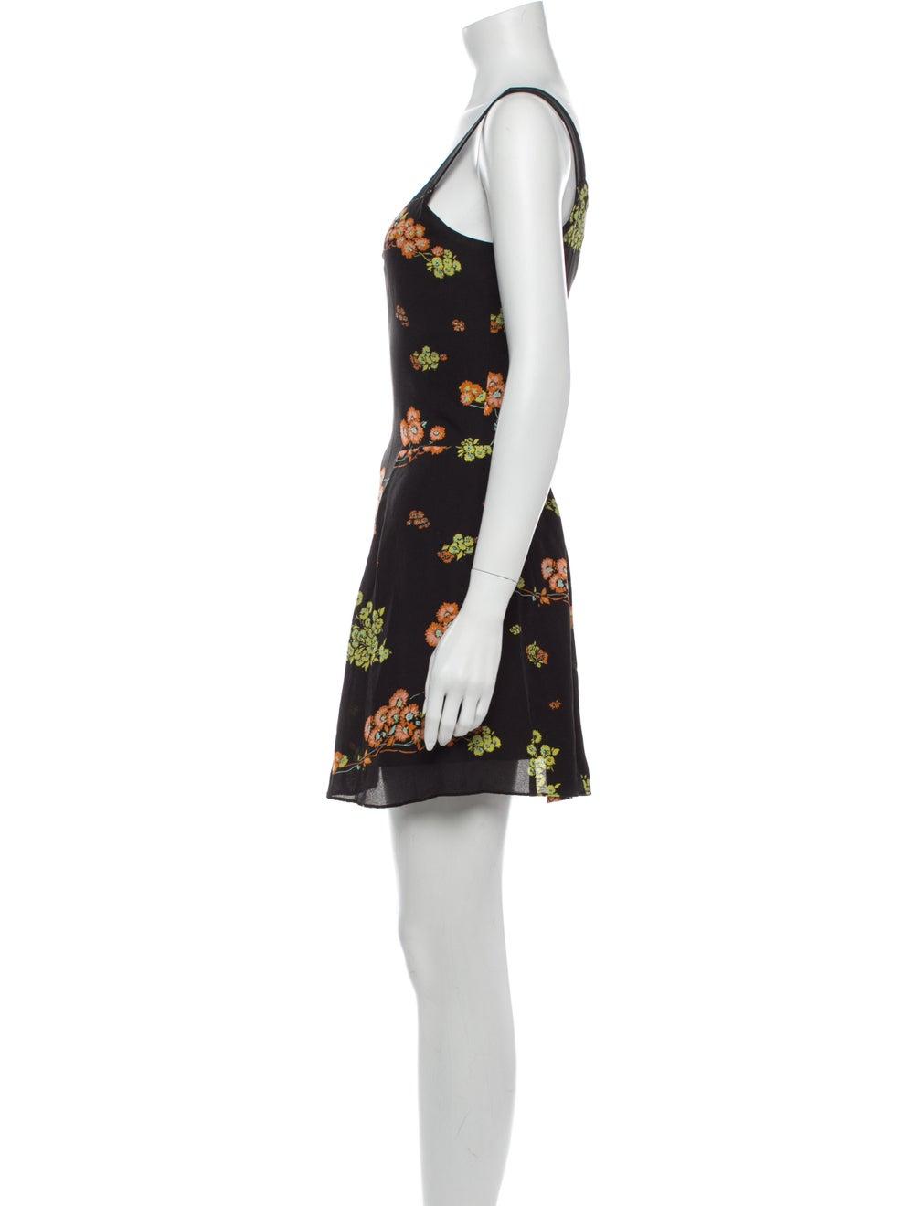 A.l.c. Silk Mini Dress Black - image 2