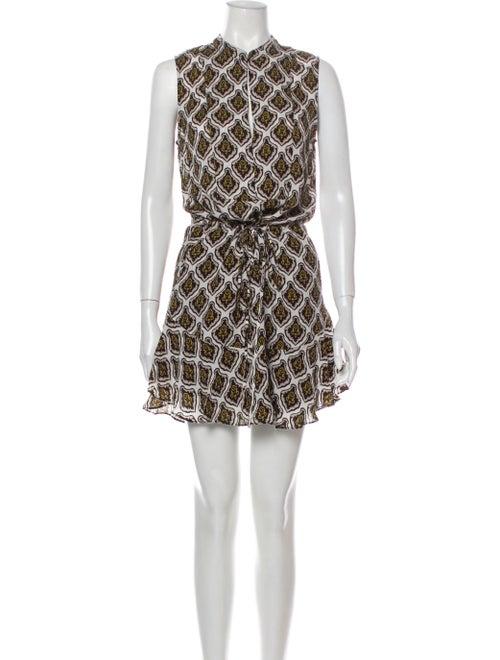 A.l.c. Silk Mini Dress White