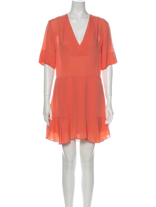 A.l.c. Silk Mini Dress Pink - image 1