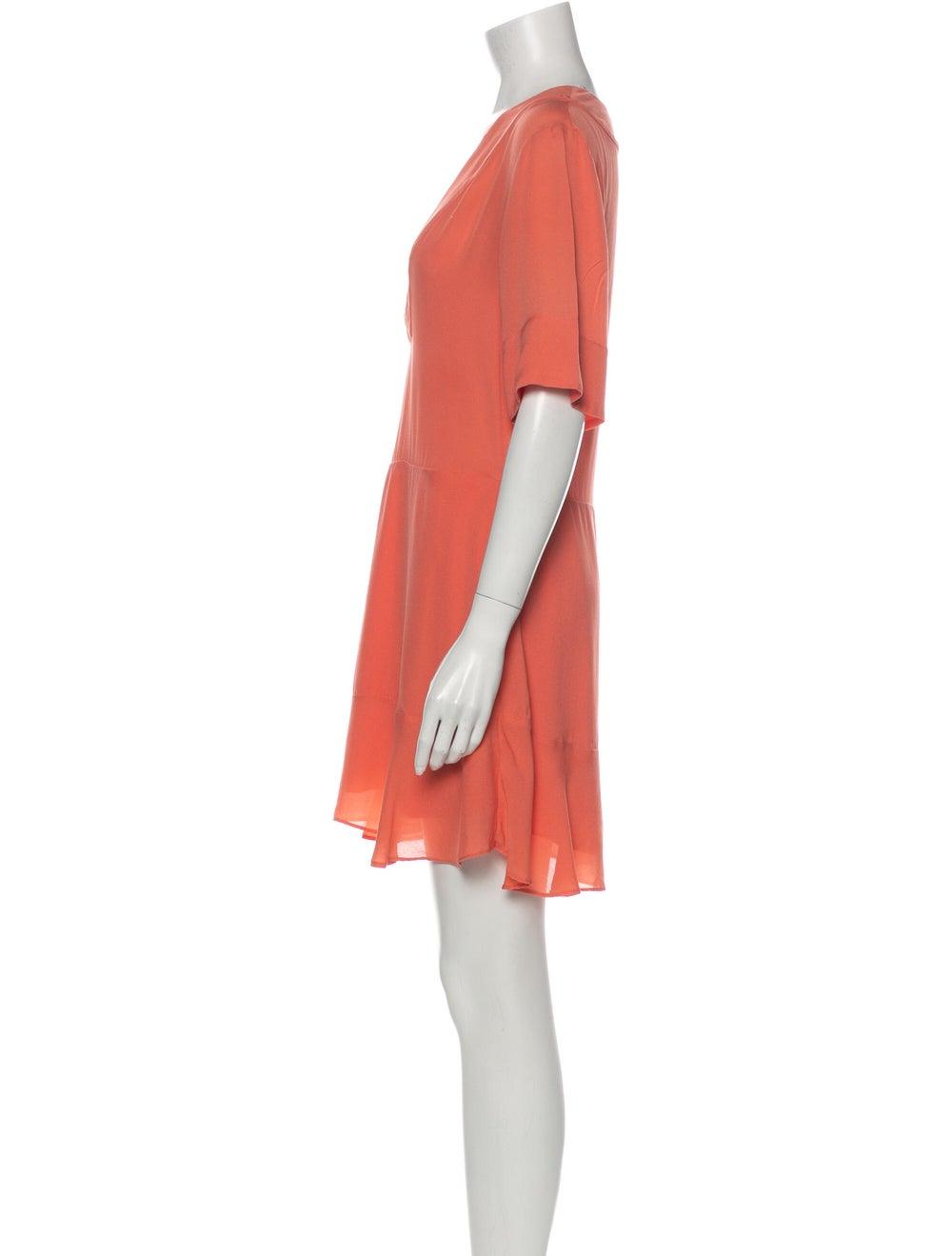 A.l.c. Silk Mini Dress Pink - image 2