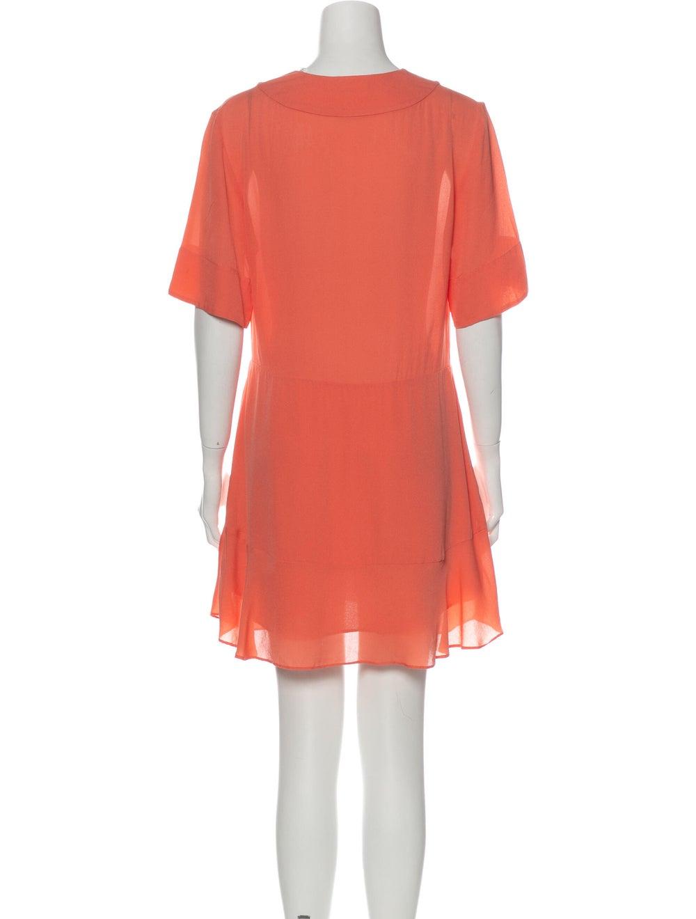 A.l.c. Silk Mini Dress Pink - image 3
