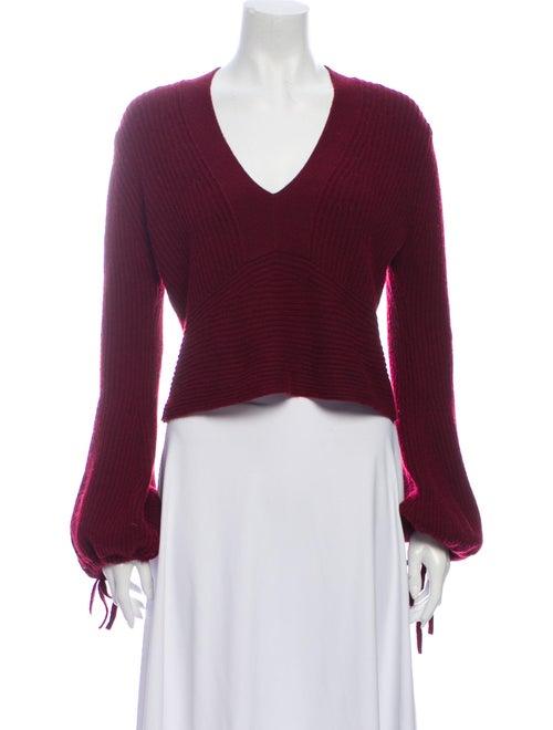 A.l.c. Wool V-Neck Sweater Wool