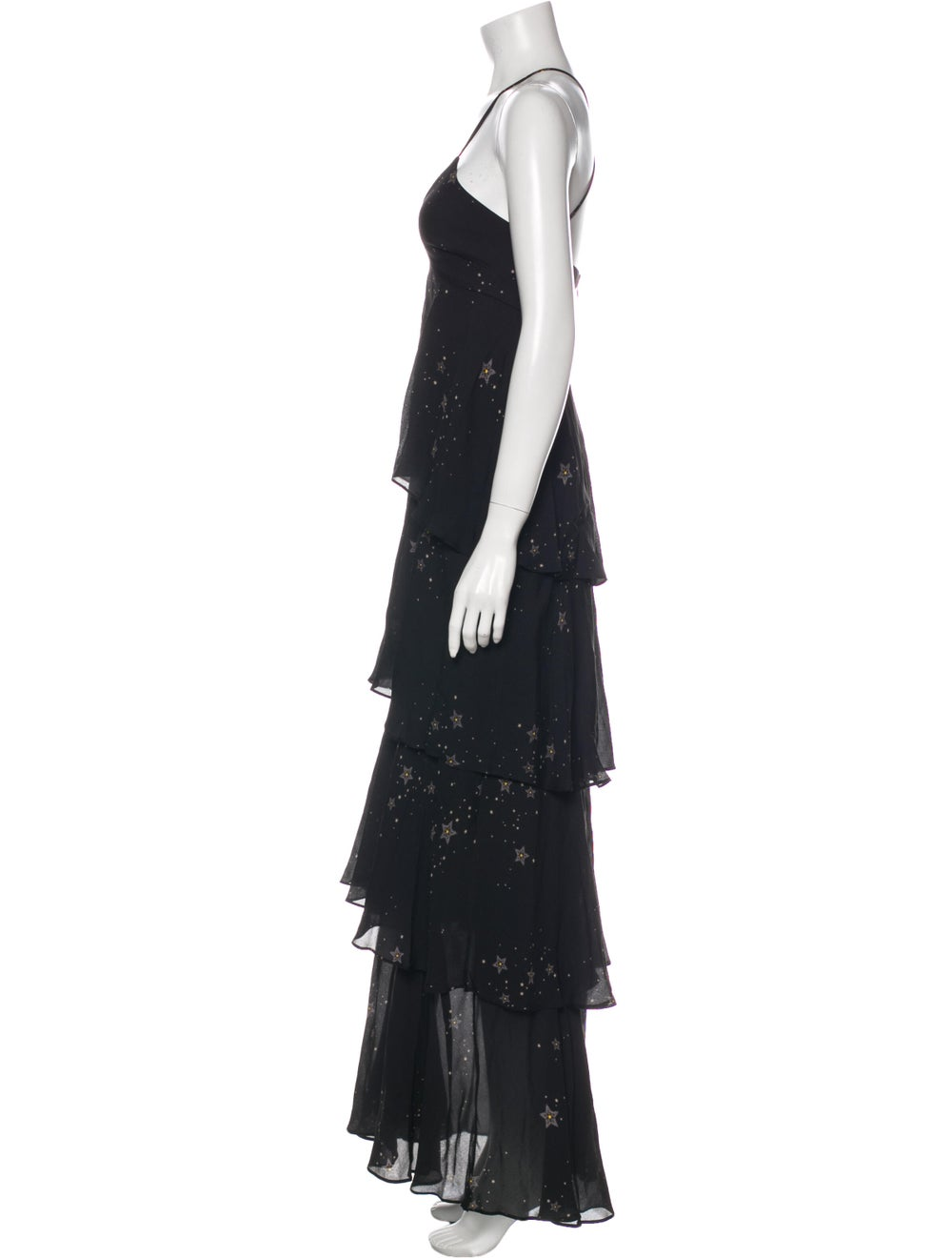 A.l.c. Silk Long Dress Black - image 2