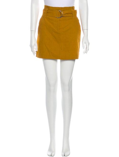 A.l.c. Mini Skirt Yellow