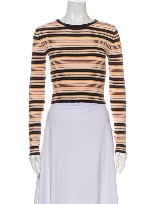 A.l.c. Merino Wool Striped Sweater Wool