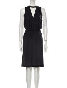A.L.C. Silk Midi Length Dress