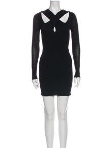 A.L.C. V-Neck Mini Dress