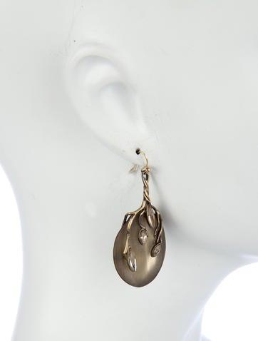 Lucite Vine Earrings