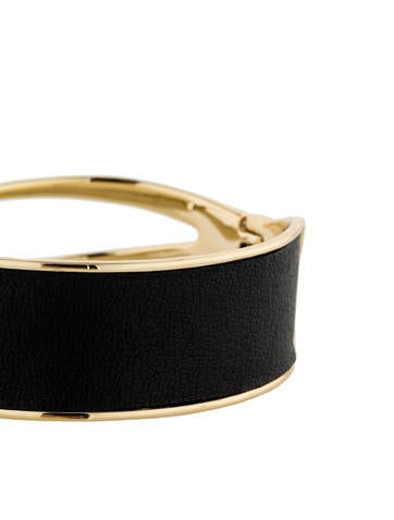 Leather Hinge Bracelet