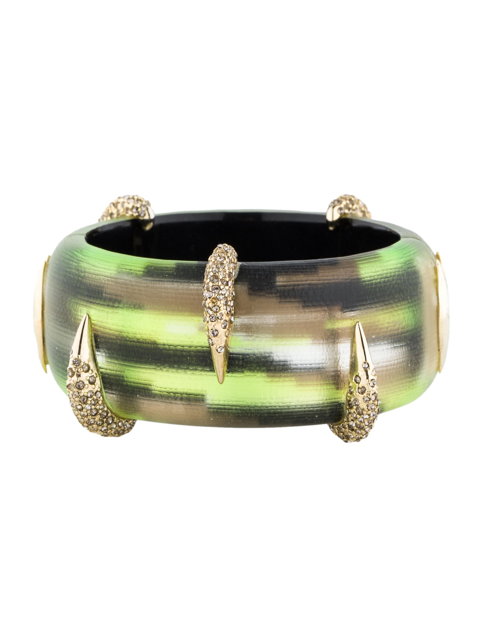 bittar com studded pleated dp amazon alexis toggle ash cuff bracelet crystal