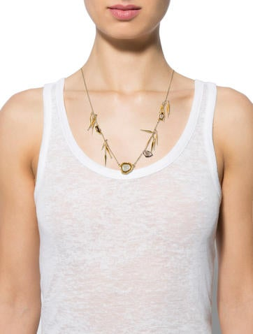 Quartz Pendant Necklace