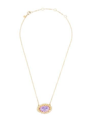 Pavé Crystal Pendant Necklace