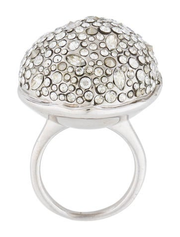 Crystal Dome Ring