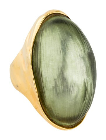 Lucite Cocktail Ring