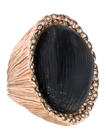 Alexis Bittar Large Lucite Cocktail Ring None