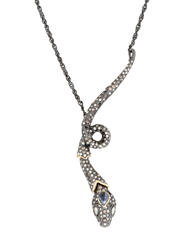 bittar snake pendant necklace necklaces
