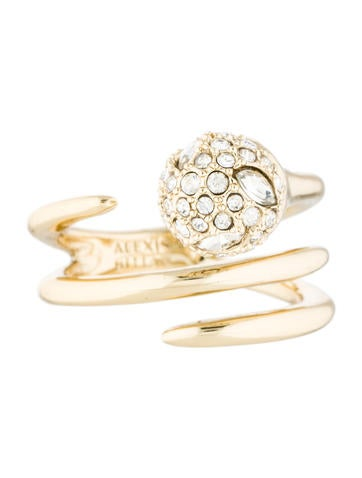 Alexis Bittar Sphere Coil Ring None