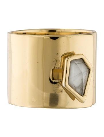 Alexis Bittar Bezel Crystal Ring None